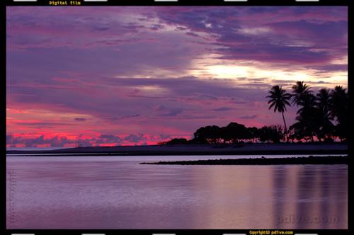 マーシャル諸島 マジュロ環礁 2005/08/16 セレンディパーアイランド