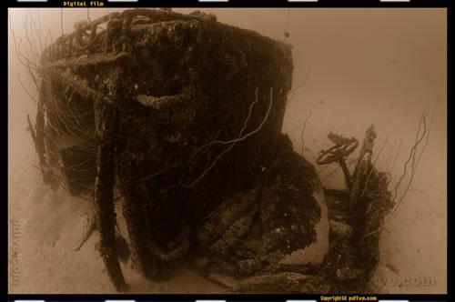 マーシャル諸島 マジュロ環礁 ダイビング 2006/08/16 (3)パーキング ロット