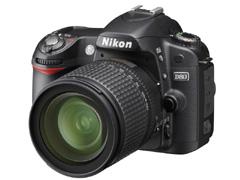 ニコンのデジタル一眼レフカメラの新製品D80発表