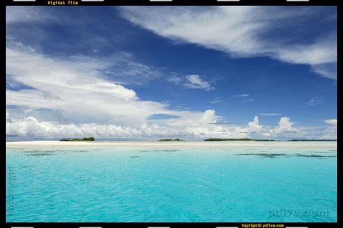 マーシャル諸島 アルノ環礁 2006/08/13 船上撮影(Jobna)